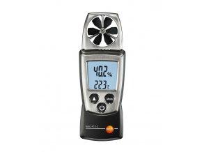 Testo 410-2 Merač rýchlosti, teploty a vlhkosti vzduchu