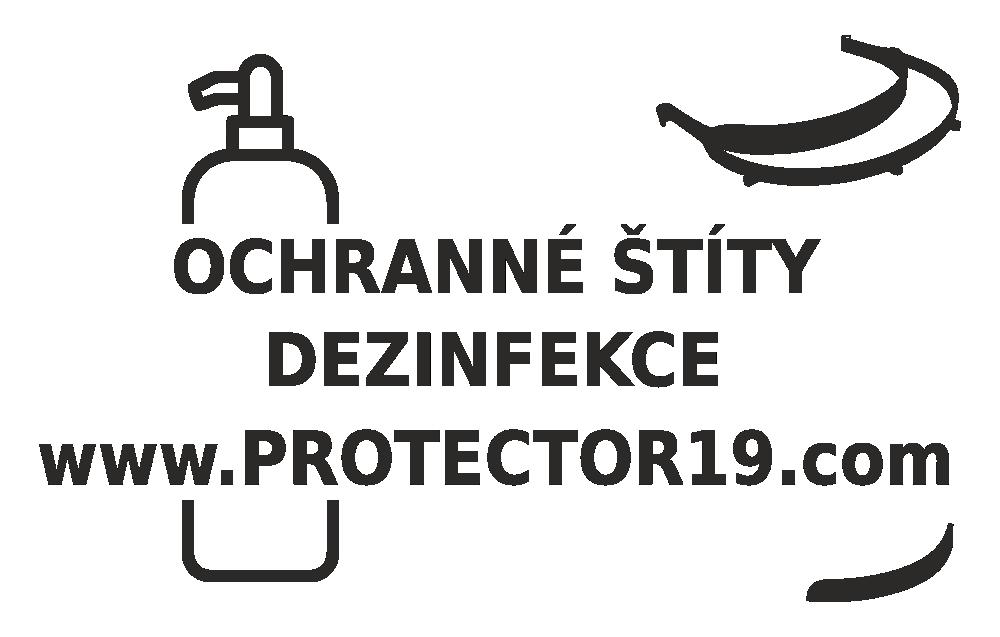 Ochranné štíty a dezinfekce PROTECTOR19