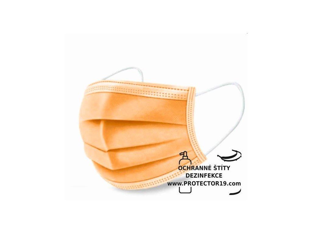 oranzova rouska ustenka protector19v
