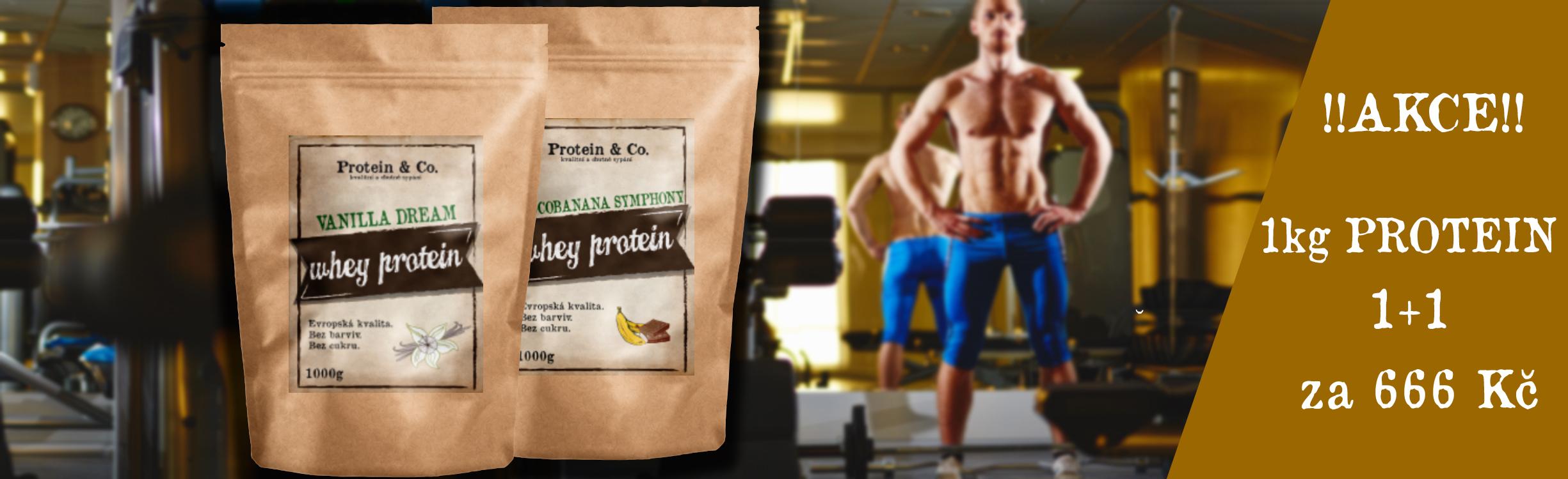 Protein&Co.  - akce měsíce