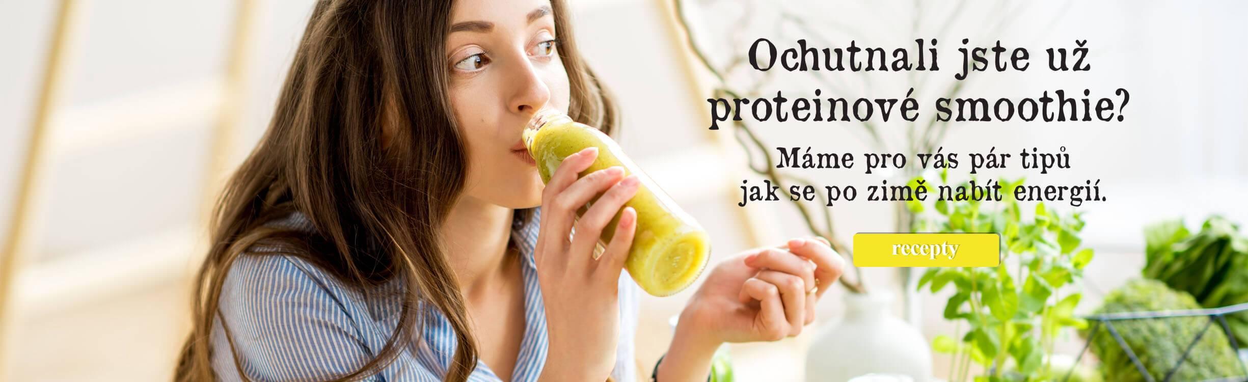 Fitness recepty, proteinové smoothie