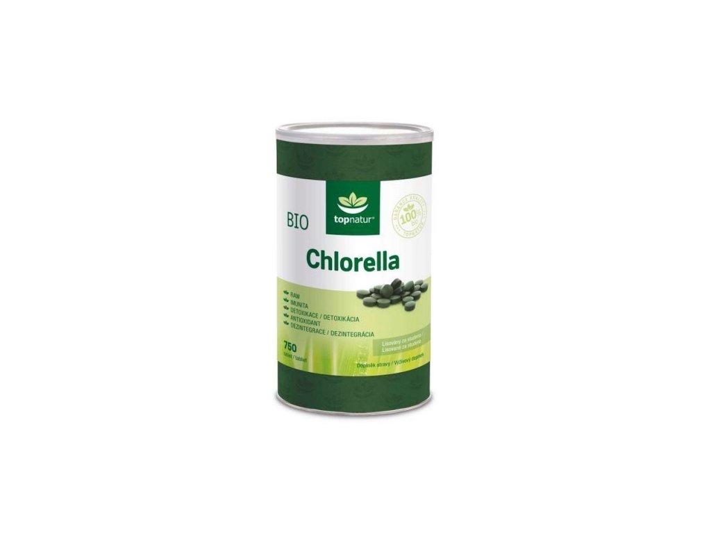 topnatur chlorella bio 750 tablet
