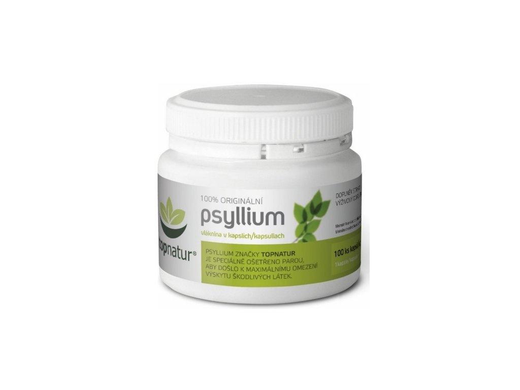 topnatur psyllium 100 kapsli