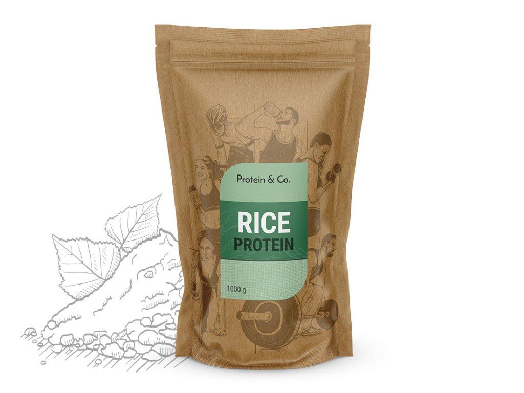 Rýžový protein 1 kg