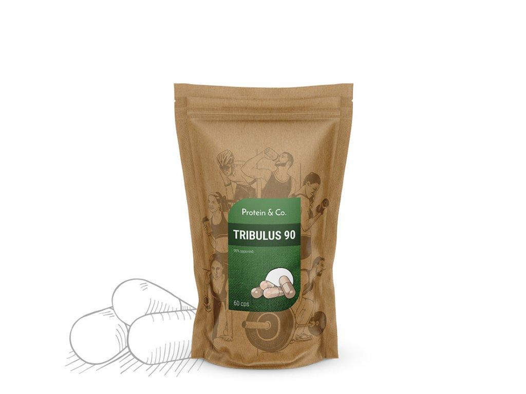 Tribulus 90 – nejvyšší koncentrace účinných látek