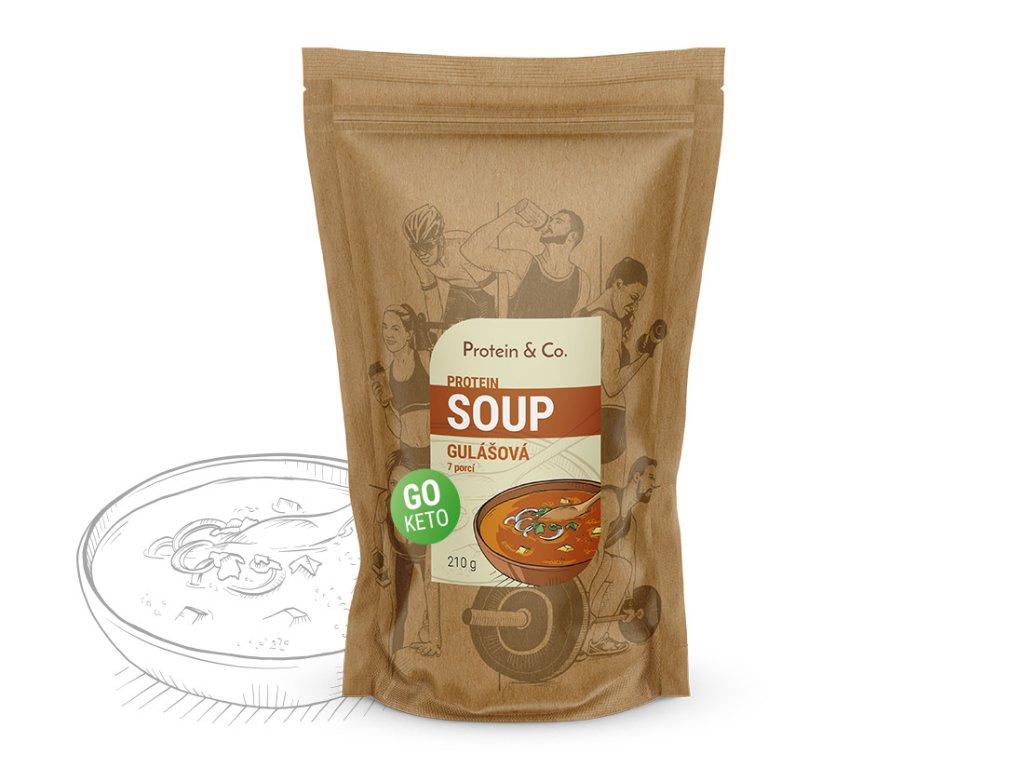 Keto proteinová polévka