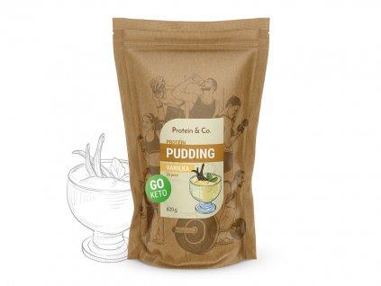 Keto proteinový pudding