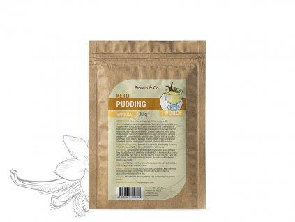 Keto proteinový pudding – vzorek 30 g