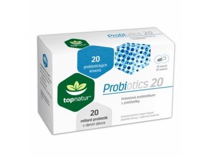topnatur probiotics 20 30kapsli