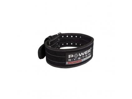 pásek powerlifting černý
