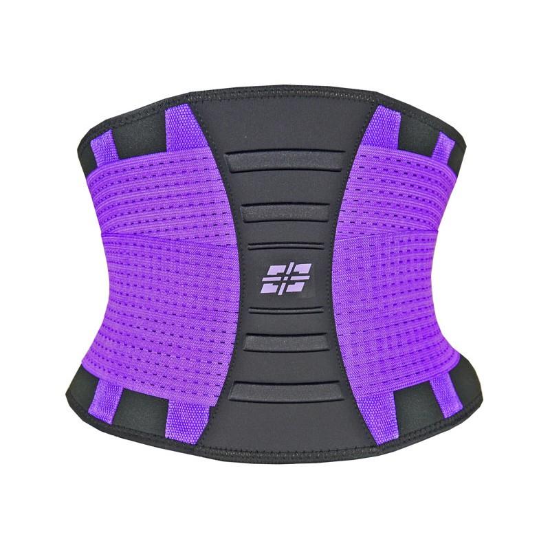 Levně Tvarovací a zeštíhlovací pás WAIST SHARPER (POWER SYSTEM) Barva: Černo-šedá, Velikost: L/XL