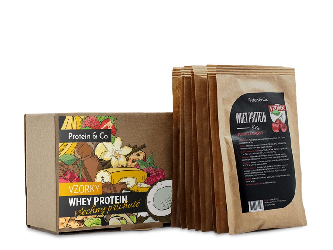 Protein&Co. CFM whey protein 80 - 9x30g