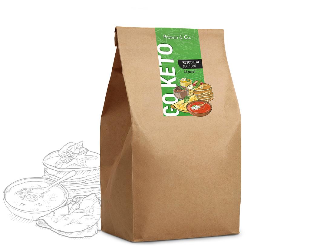 Protein&Co. Balíček 7 dní Keto – 35 porcí jídla