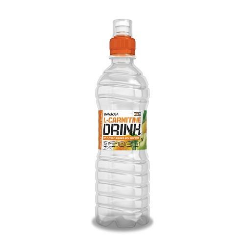 Levně BioTech USA L-Carnitine drink 500 ml Příchuť: apple-pear