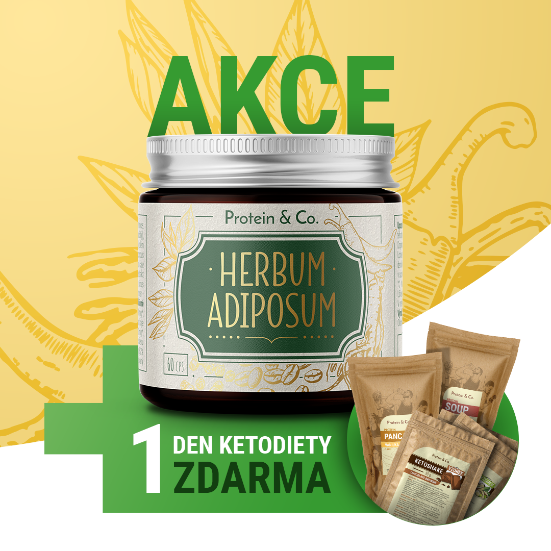 Protein&Co. Herbum adiposum + 1 den ketodiety zdarma