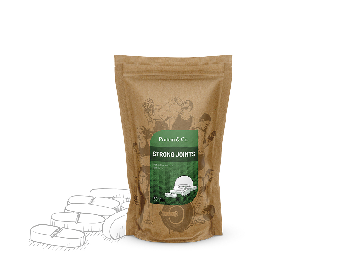 Protein&Co. Strong Joints - kloubní výživa 120 tbl