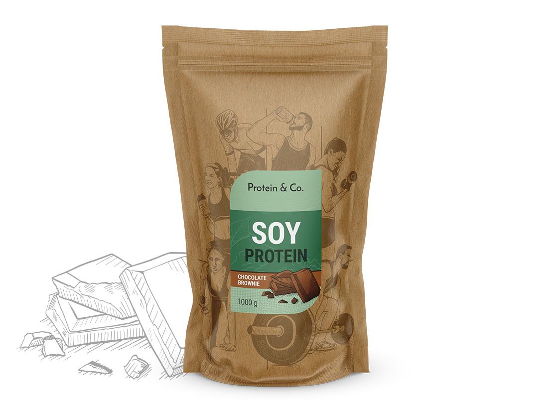 Protein&Co. Sójový protein 1 kg