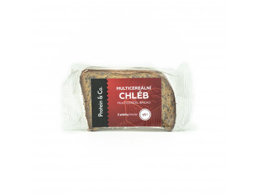 Proteínový multicereálny chlieb – 3 plátky – 70 g