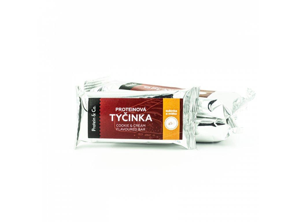 Proteínová tyčinka – sušienka so smotanou – 45 g