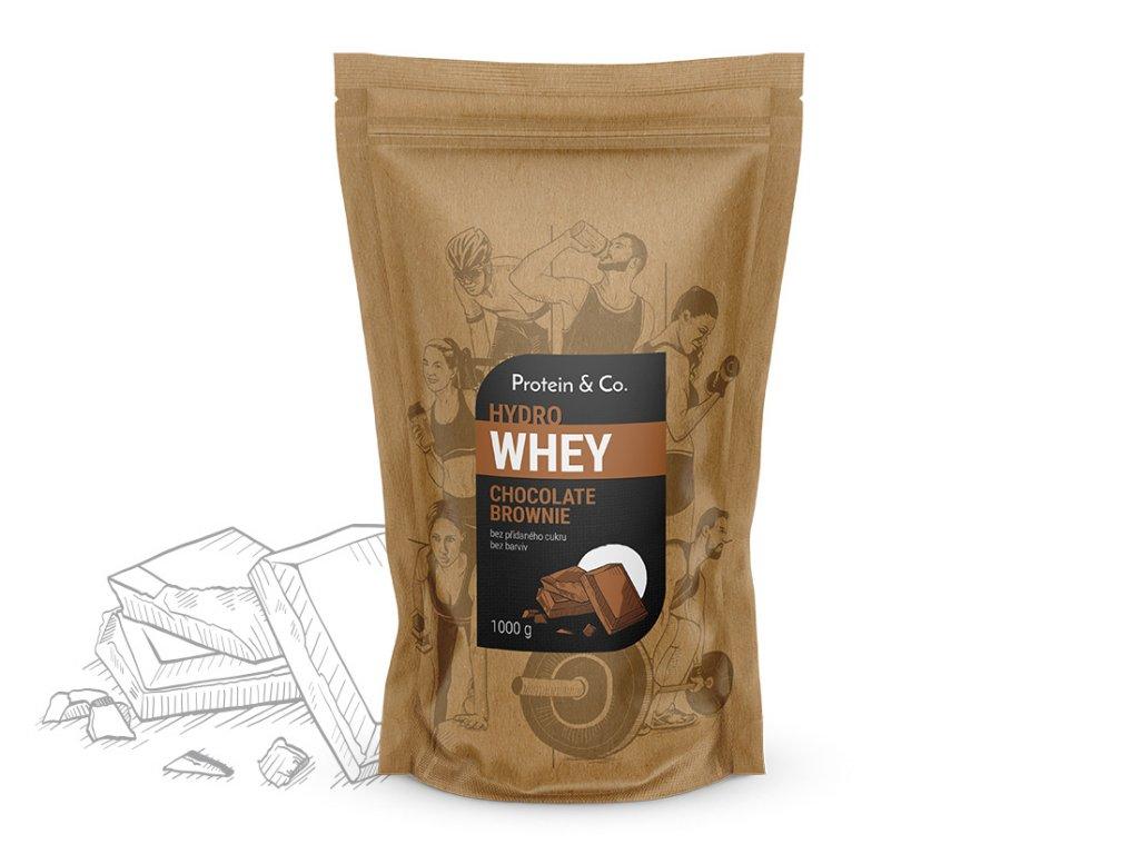 HYDRO WHEY 1kg (Příchuť Chocolate brownie)