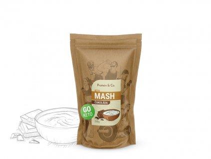 Keto mash - proteínová diétna kaša
