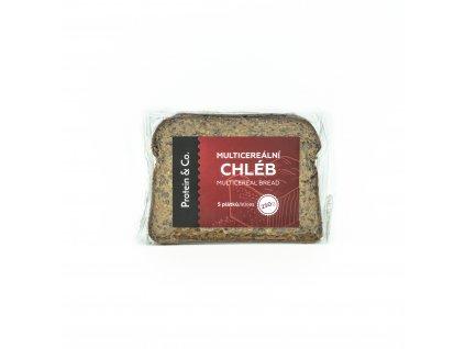 Proteínový multicereálny chlieb – 5 plátkov – 250 g