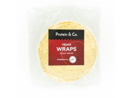 Proteínové wrapy (vegan) 6× 40 g