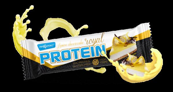 MAX SPORT s r.o. Royal Protein Bar 60 g Príchut´: Lemon cheesecake