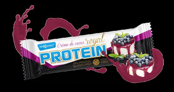 MAX SPORT s r.o. Royal Protein Bar 60 g Príchut´: Créme de cassis