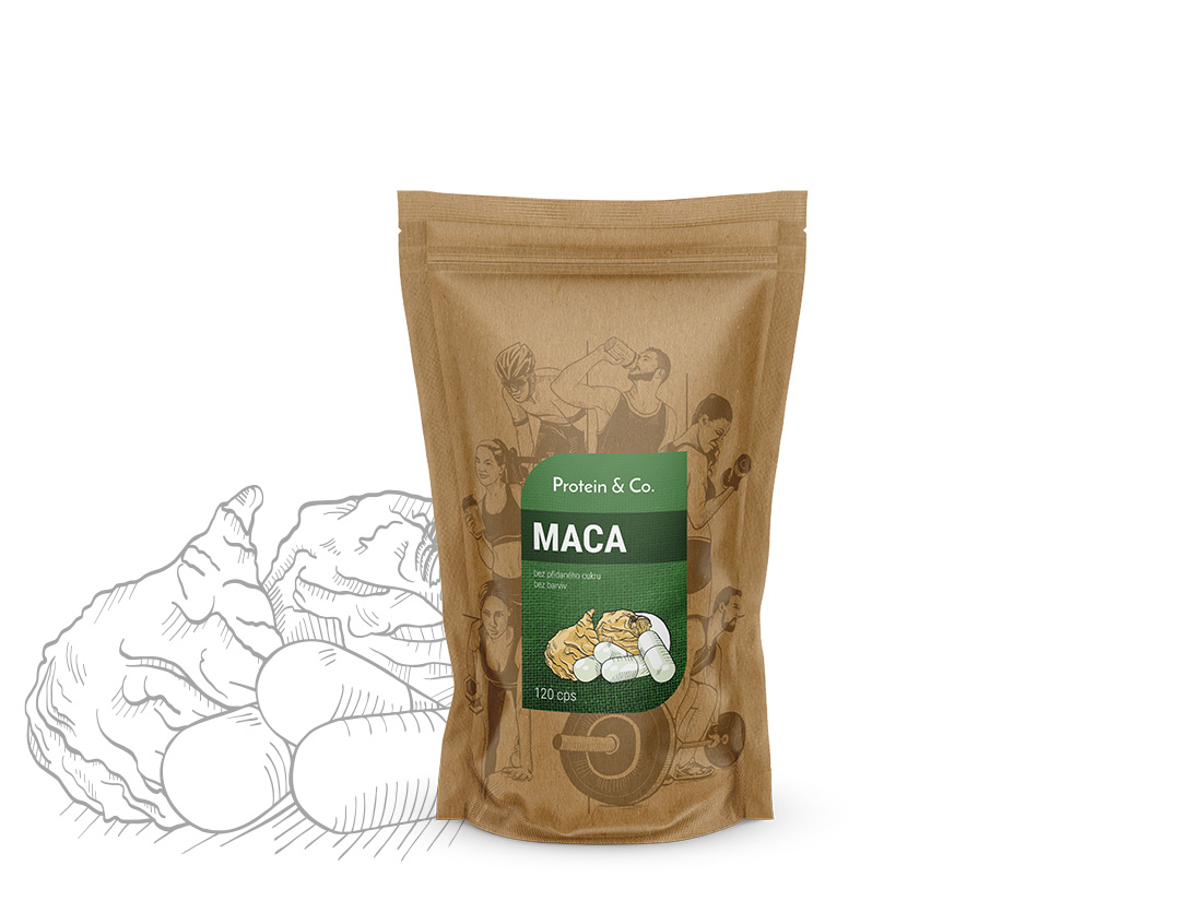 Maca kapsle – doplnok stravy 120 kapslí