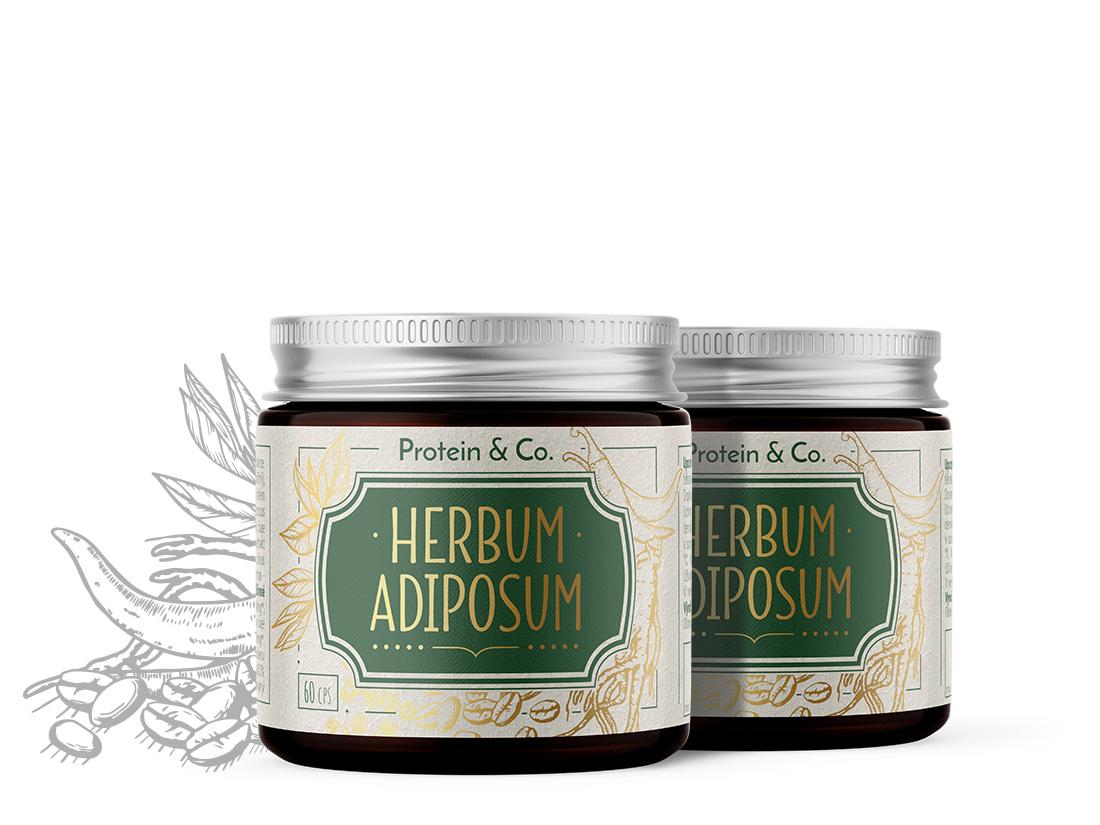 Protein&Co. Herbum adiposum 1 + 1 zadarmo