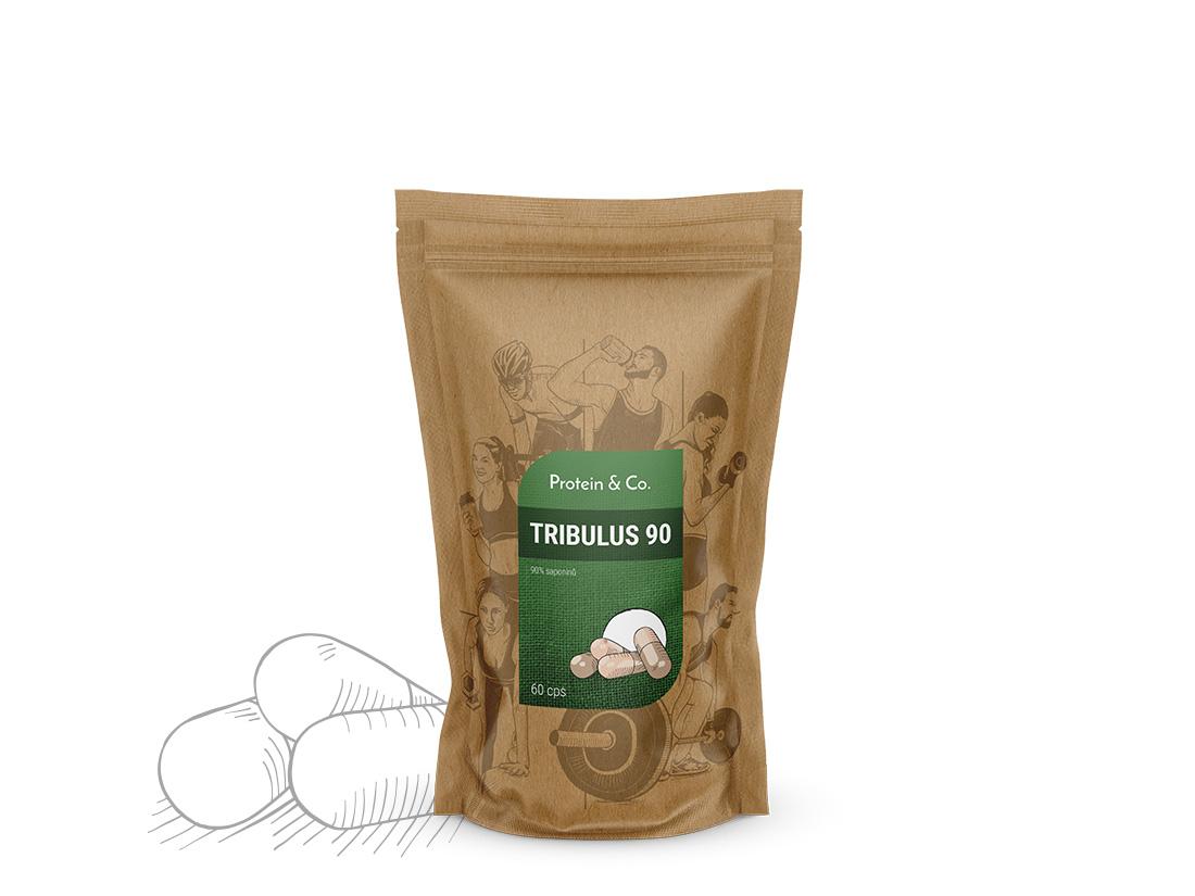 Protein&Co. Tribulus 90 Množství: 60 tbl