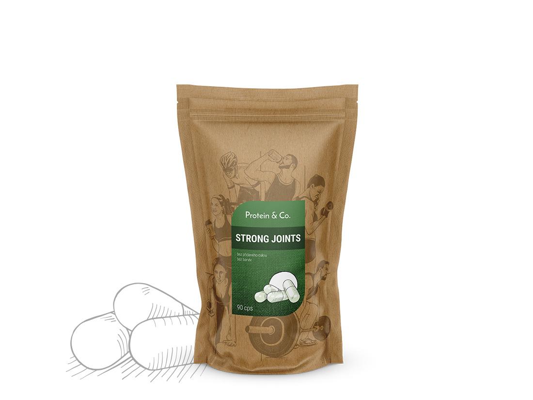 Protein&Co. Strong Joints - kĺbová výživa 60 tbl