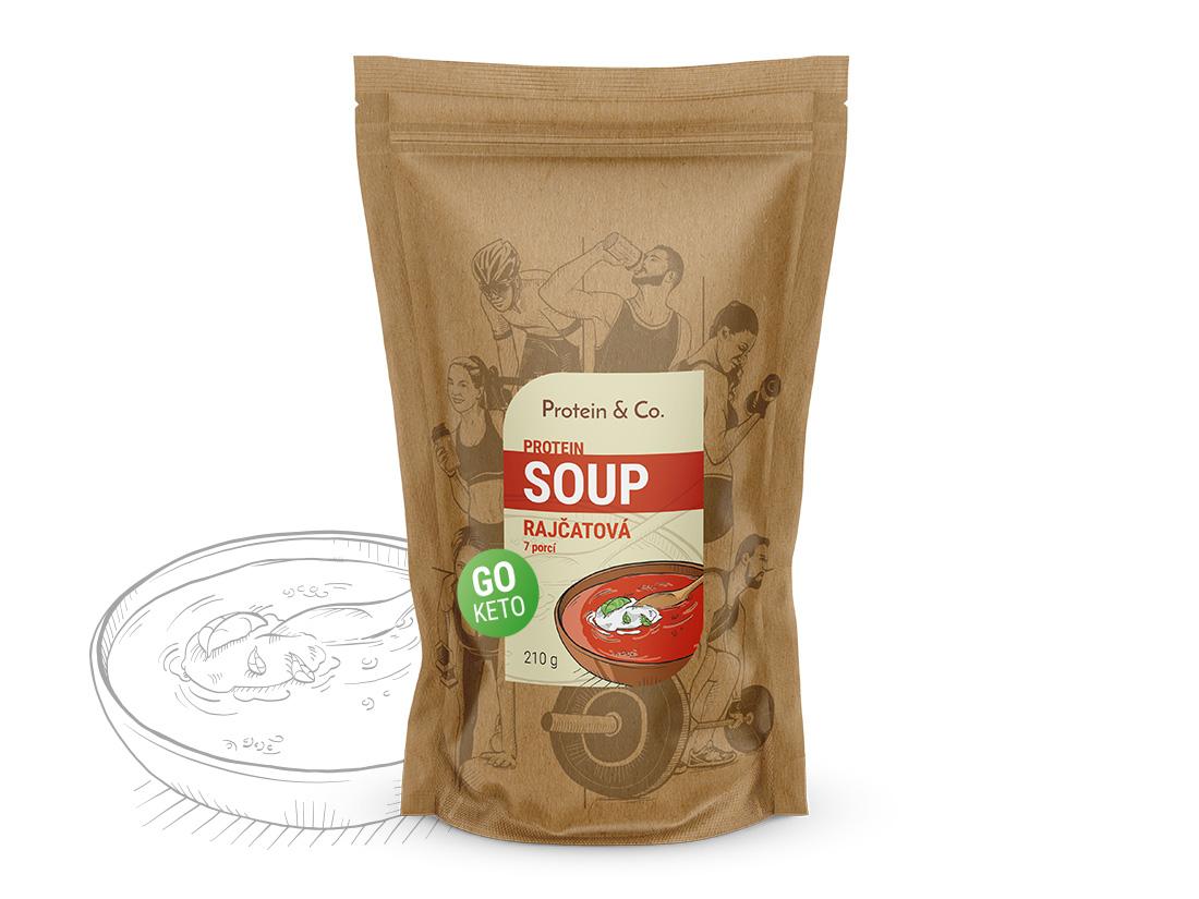 Protein&Co. Keto proteíová polievka Príchut´: Paradajková polievka, Množstvo: 210g