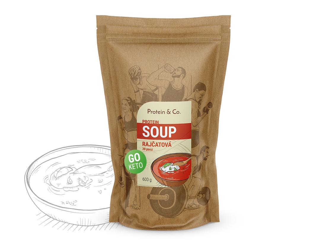 Protein&Co. Keto proteíová polievka Príchut´: Paradajková polievka, Množstvo: 600g