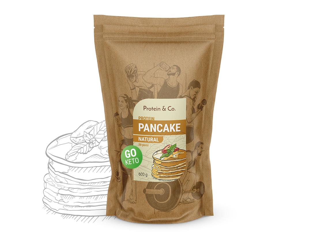 Protein&Co. Keto proteínové palacinky Váha: 600 g, Príchut´: Natural