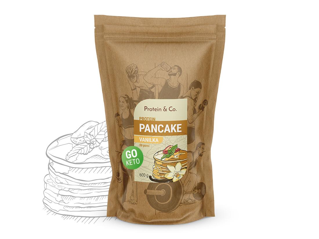 Protein&Co. Keto proteínové palacinky Váha: 600 g, Príchut´: Vanilka