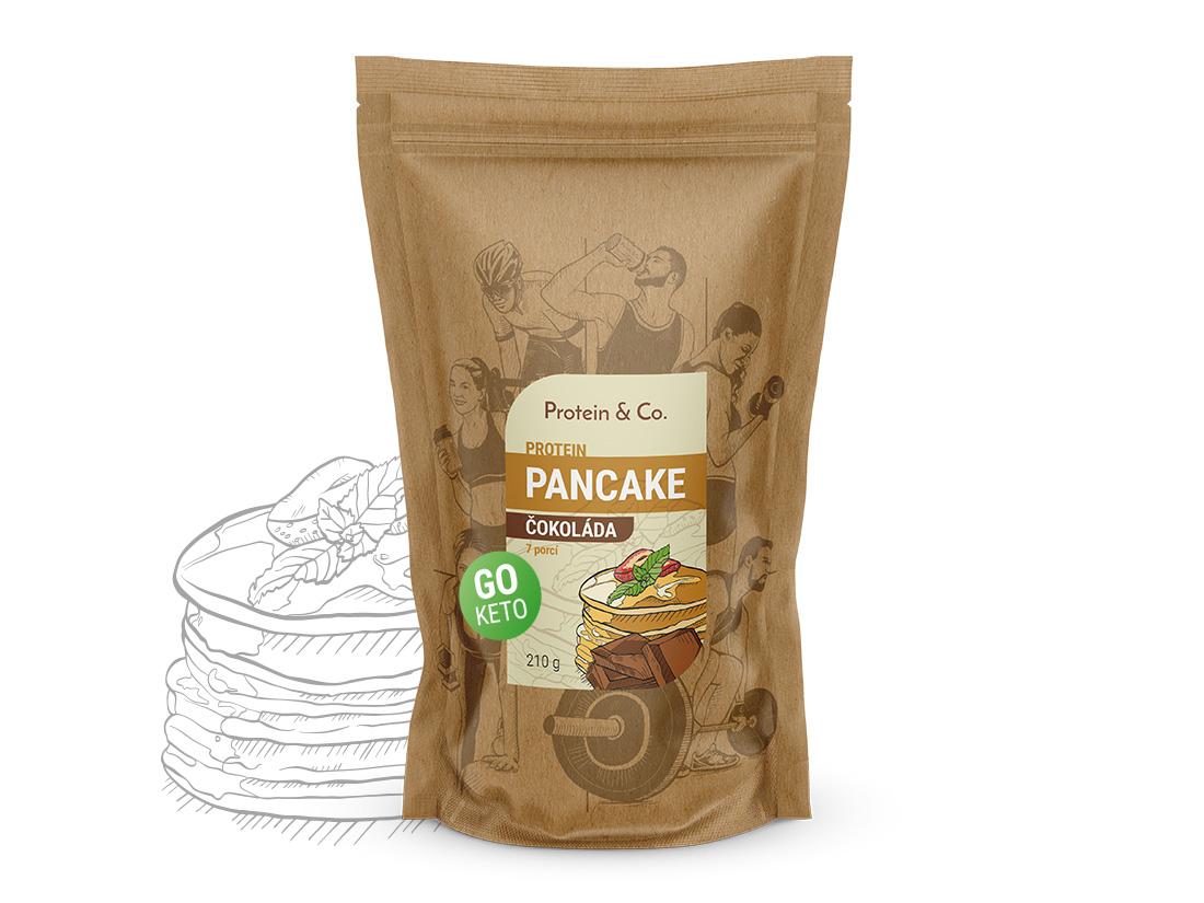 Protein&Co. Keto proteínové palacinky Váha: 210 g, Príchut´: Čokoláda