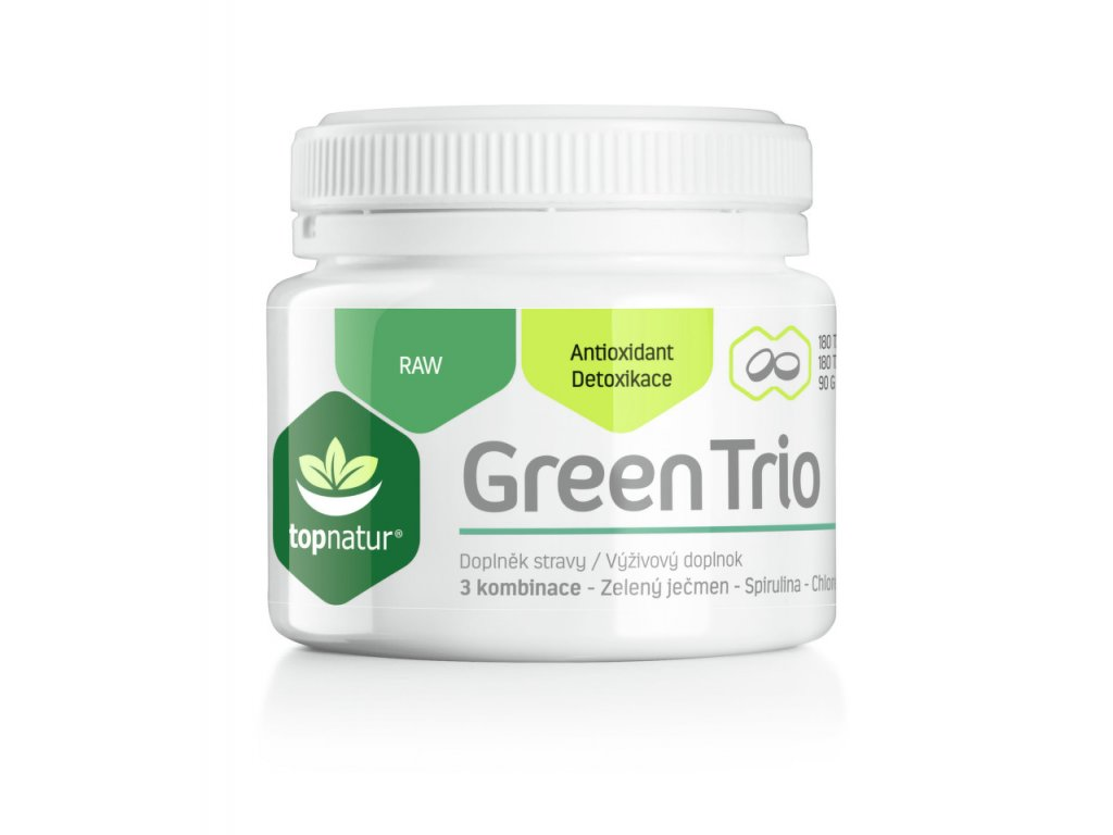 Green Trio TOPNATUR – 180 tabliet