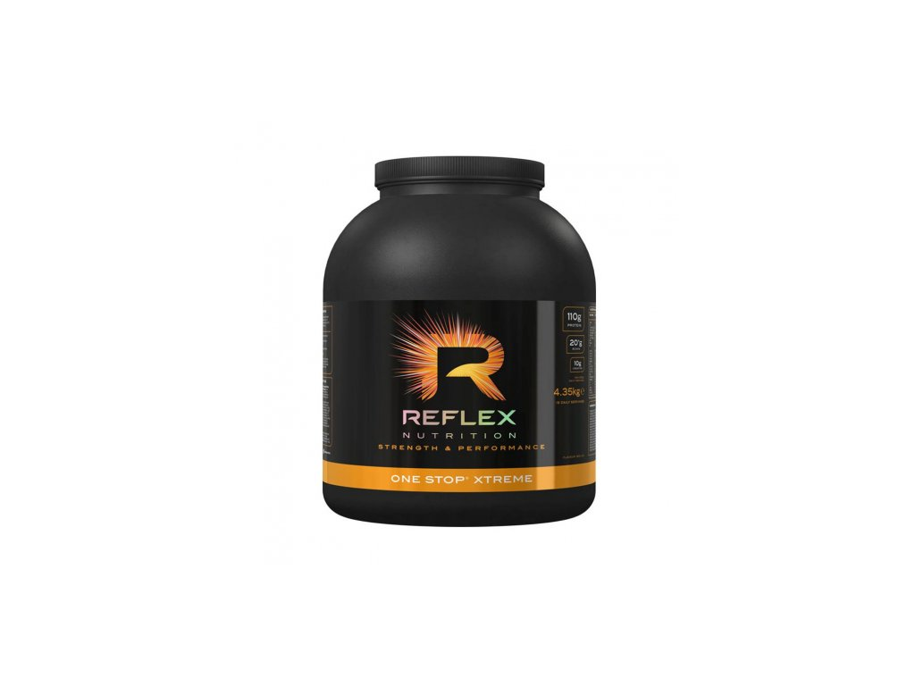 One Stop XTREME 4,35 kg (Reflex Nutrition) Príchut´: Cookies-cream