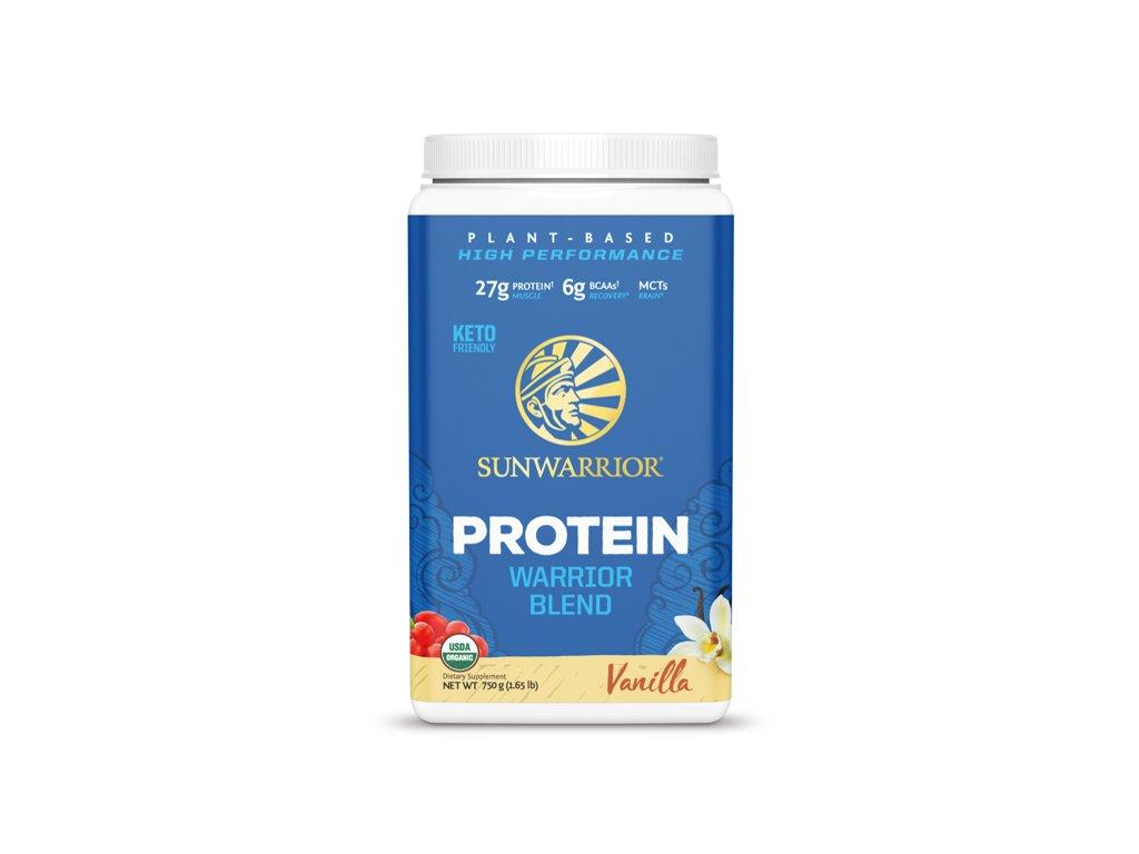 Protein Blend BIO 750 g (Sunwarrior) Príchut´: Vanilla