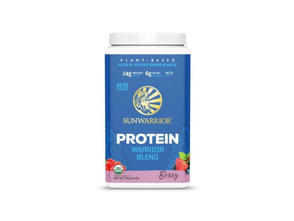 Protein Blend BIO 750 g (Sunwarrior) Príchut´: Berry