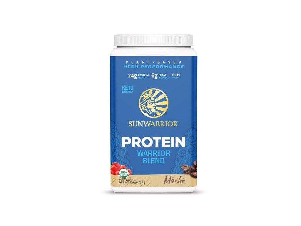 Protein Blend BIO 750 g (Sunwarrior) Príchut´: Mokka