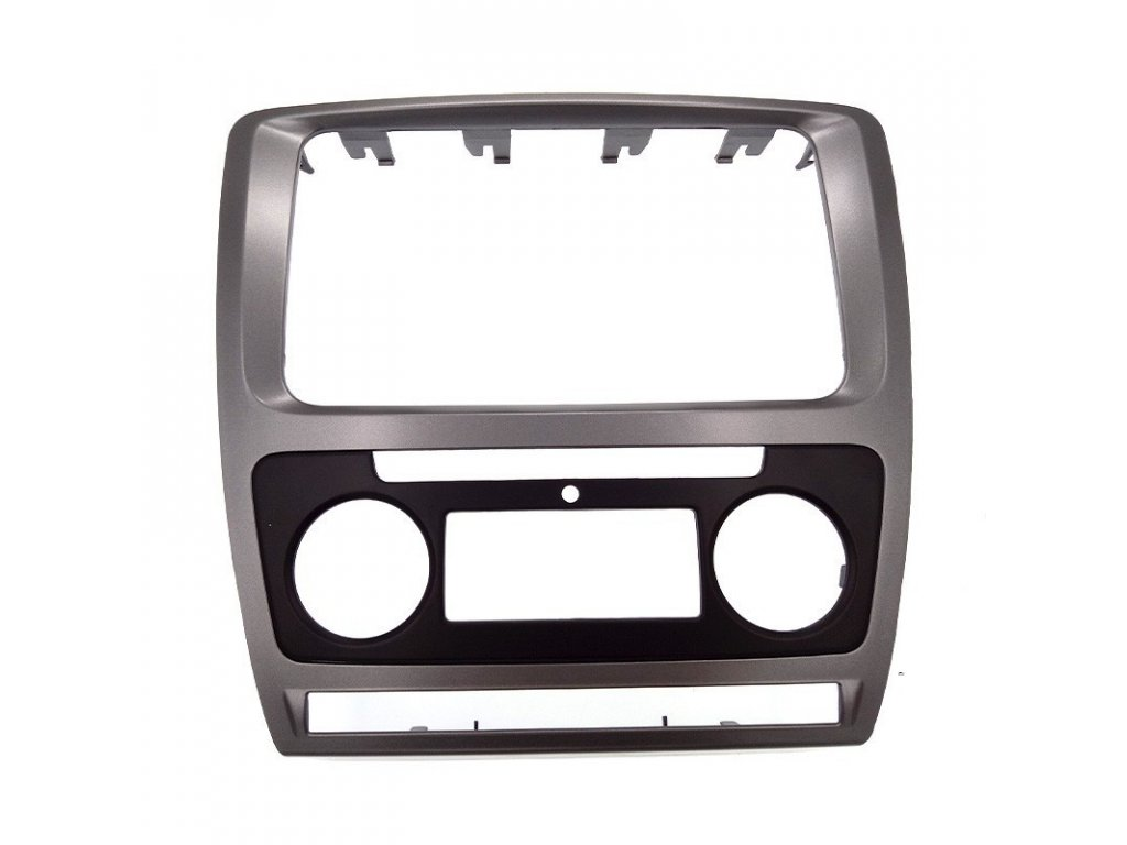 Krycí rámeček k navigaci Škoda Octavia II. facelift automatická klimatizace