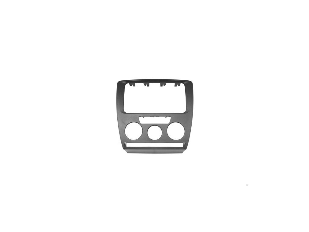 ISO rámeček pro Škoda Octavia II. (04-09) s man. klimatizací