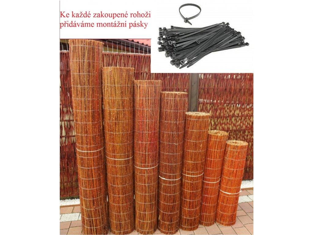 Proutěná rohož 1,5x5,0