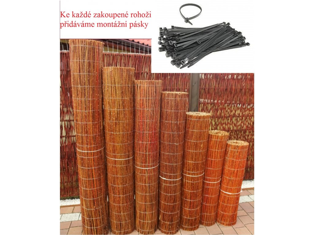 Proutěná rohož 1,5x3,0