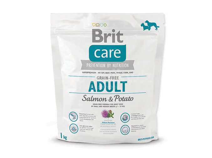 brit care grain adult salmon 1