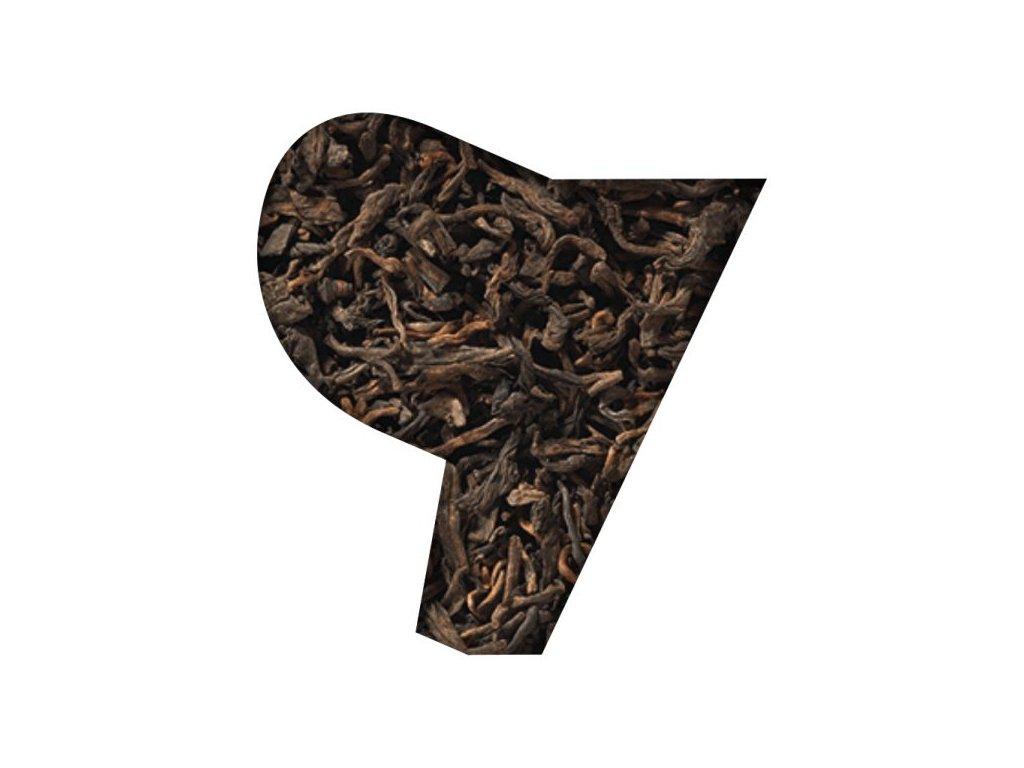 Černý sypaný BIO čaj PU-ERH