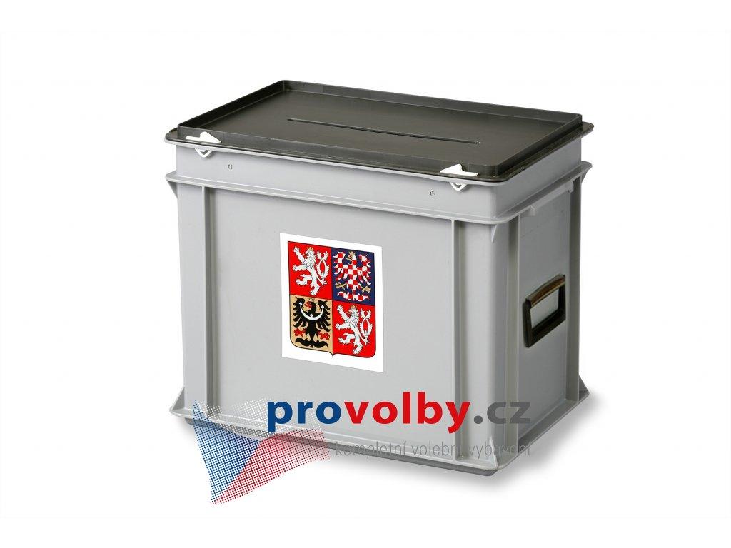volební urna střední s madly